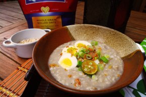 How to Make Guilt-free Oatmeal Arroz Caldo